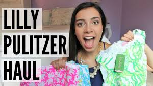 lilly pulitzer for target review lilly pulitzer after party sale try on haul review youtube