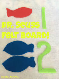 mini monets and mommies dr seuss kids u0027 felt board color and