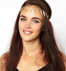 forehead headbands hot sale boho chic angle wings tassels headband women adjustable