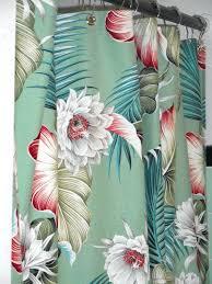 Hawaiian Curtain Fabric Hawaiian Shower Curtain U2013 Discountant Net