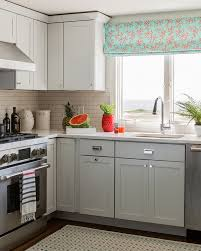 small kitchen grey cabinets gray cabinets contemporary kitchen rosenfeld design