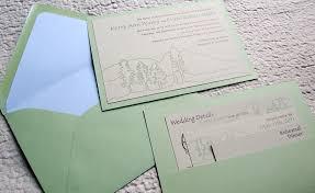 wedding invitation pocket envelopes enclosure cards papercake designs