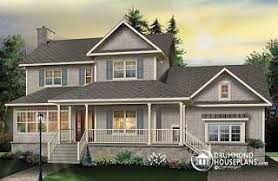 Southern Farmhouse Home Plan Impressive Northeast New England And Mid Atlantic From Drummondhouseplans Com
