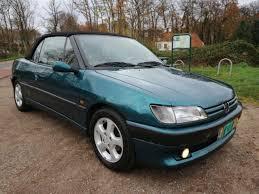 peugeot 306 convertible peugeot 306 cabriolet 1 8 roland garros leer apk 11 2018 1996