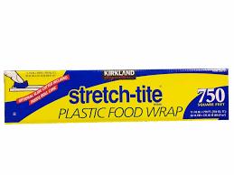 750 Square Feet Kirkland Signature Stretch Tite Plastic Food Wrap 750 Square Feet
