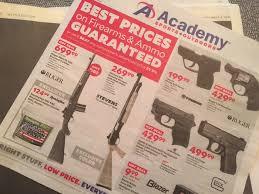 academy sports sales paper did academy sports bet gun sales on clinton paratus