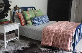 Paint Metal Bed Frame Painting A Metal Bed And Getting Past Perfection Emily A Clark