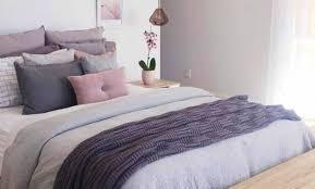 chambre prune et blanc décoration chambre prune blanc et gris 27 aixen provence deco