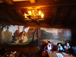 beauty and the beast town disneyland debuts