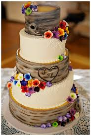 wedding cakes ideas brown wedding cake figurines with