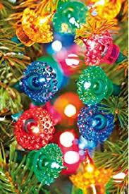 christmas tree flower lights werchristmas multi colour led flower lights string christmas