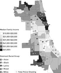Chicago Wards Map by Chicago Trending Brown Black Latino Relations 1990 2010