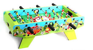table top football games kids soccer table wooden football game table child s foostable