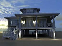 beach house plans on piers beach cottage house plans tiny house
