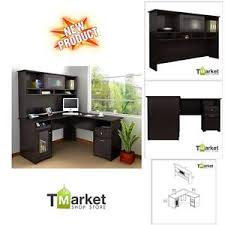 Corner Computer Workstation Desk Executive Corner Desk L Shaped Cabinet Table Computer Workstation