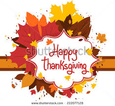 happy thanksgiving day greeting card image