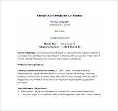 Auto Mechanic Resume Sample by Resume Template 92 Free Word Excel Pdf Psd Format Download