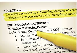 Good Resume Objectives Marketing by Resume Objective Examples Splixioo