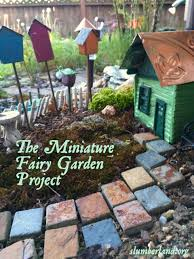 the miniature fairy garden project slumberland