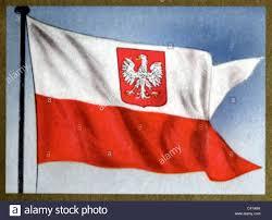 flags poland republic battle flag 1919 1939 and since 1956