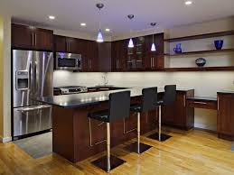 Black Lacquer Kitchen Cabinets Gothic Black Kitchen Set With Best Cabinets And Metal Stools To