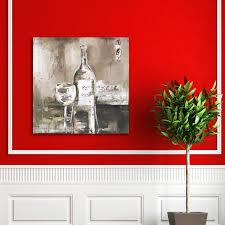 portfolio u0027wine cellar i grey u0027 by bridges wrapped canvas wall art