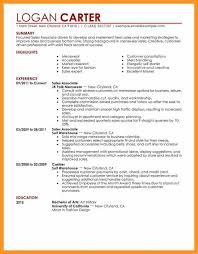 sales associate resume sales associate resume no experience bio letter format