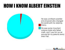 Albert Einstein Meme - how i know albert einstein by physicx meme center