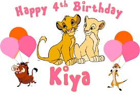 lion king birthday cimvitation