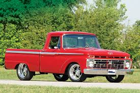 Ford Old Truck Parts - 1966 ford f 100 styleside red rod network