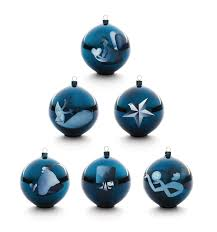 blue figures and ornaments alessi