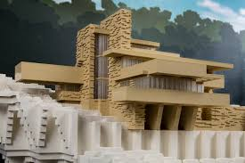 fallingwater house fallingwater architect magazine brick by brick at the museum