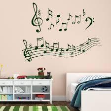 music note wall art shenra com hot wonderful music notes wall art stickers wall decal diy home