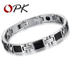 steel stainless magnetic bracelet stainless images Opk jewelry fashion gift magnetic bracelet stone inlay health jpg