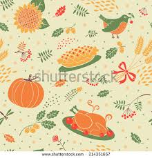 Thanksgiving Vector Art Thanksgiving Pattern Stock Images Royalty Free Images U0026 Vectors