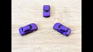kids fun learning chad valley three purple toy racing cars cars