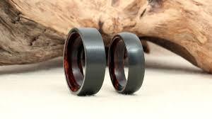 black zirconium wedding bands giveaway black zirconium wood ring ring and weddings