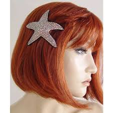 starfish hair clip pin by nora boyle on diy craft works mermaid hair