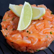 cuisine de a a z verrine recette verrine de tartare aux deux saumons