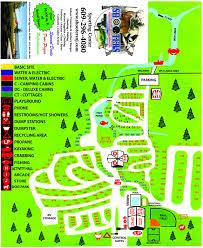 Long Beach Map Camp Map Of Sea Pirate Campground Long Beach Island Jersey Shore