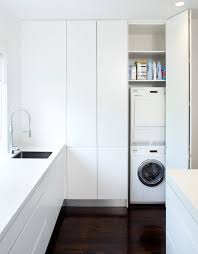 Kitchen Laundry Design Kitchen Laundry Ideas Laundry Room Modern With Wood Floors Wood