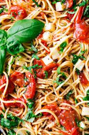 easy caprese pasta chelsea u0027s messy apron