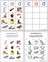 montessori lessons u2013 matching first sound a word family a z