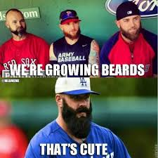 Playoff Beard Meme - mlb memes on twitter real talk playoff beards everything else