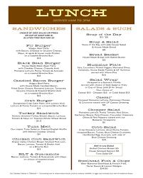 thanksgiving lunch menu menus doug fir lounge