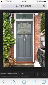 what are the best paint colours for a front door brick house