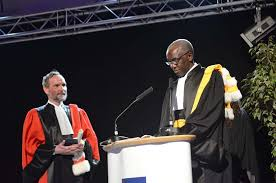 doctoral gown warc pays tribute to aroa president professor ibrahima thioub