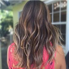 long brown hairstyles with parshall highlight 6 hot partial highlights ideas for brunettes partial highlights