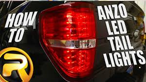 2010 ford f150 tail light cover how to install led tail lights from anzo on a ford f150 youtube