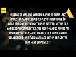 Wedding Ring On Right Hand by What Does It Mean To Wear A Wedding Ring On Your Right Hand Youtube